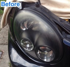 Cloudy Headlight
